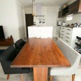 キッチンとダイニングは横並びがいい!意外に自由度が高いテーブル配置とその使い勝手